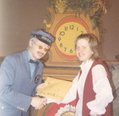 Dorothy Marcic and Mr. McFeely